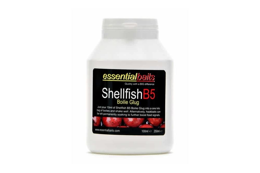 Essential Baits Shellfish B5 Boilie Glug