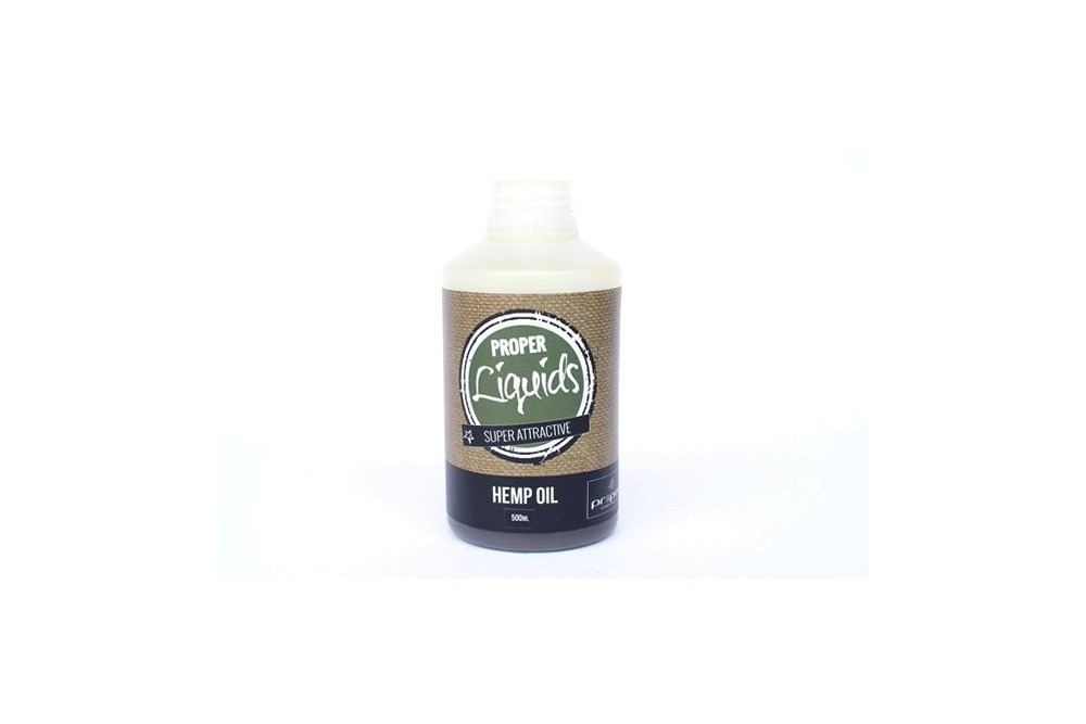 Proper Carp Baits Hemp Oil 500ml