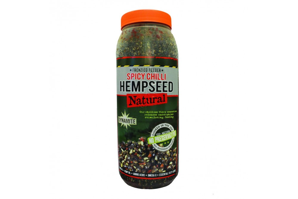 Dynamite Frenzied Feeder Hempseed Spicy Chilli Jar 2.5ltr