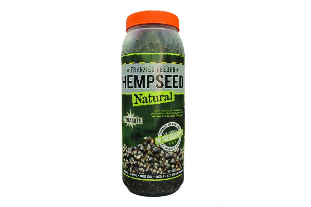 Dynamite Frenzied Feeder Hempseed Jar 2.5ltr