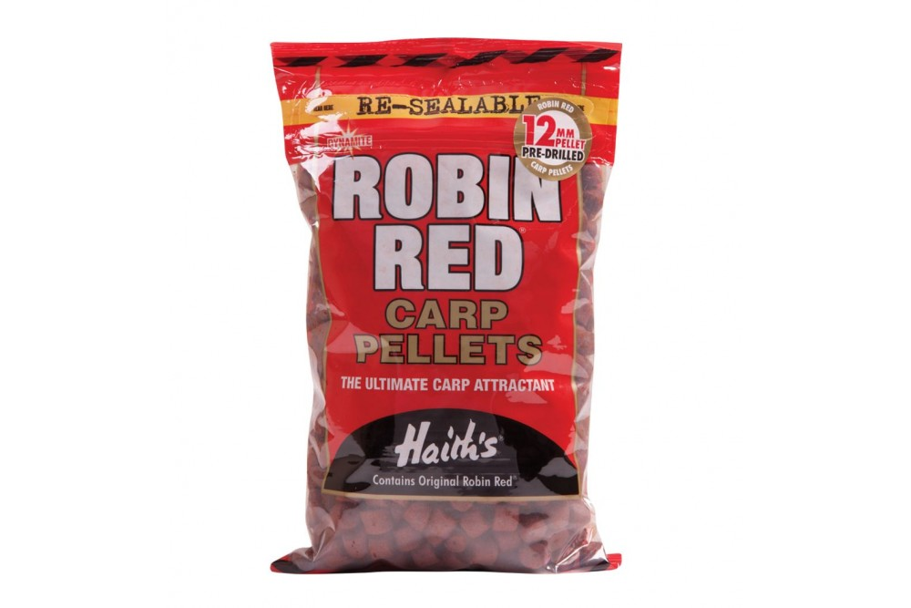 Dynamite Robin Red Pellets Pre Drilled 12mm 900g