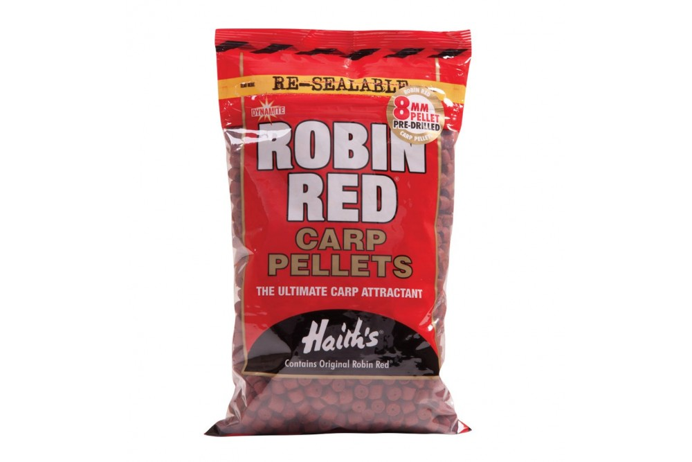 Dynamite Robin Red Pellets Pre Drilled 8mm 900g