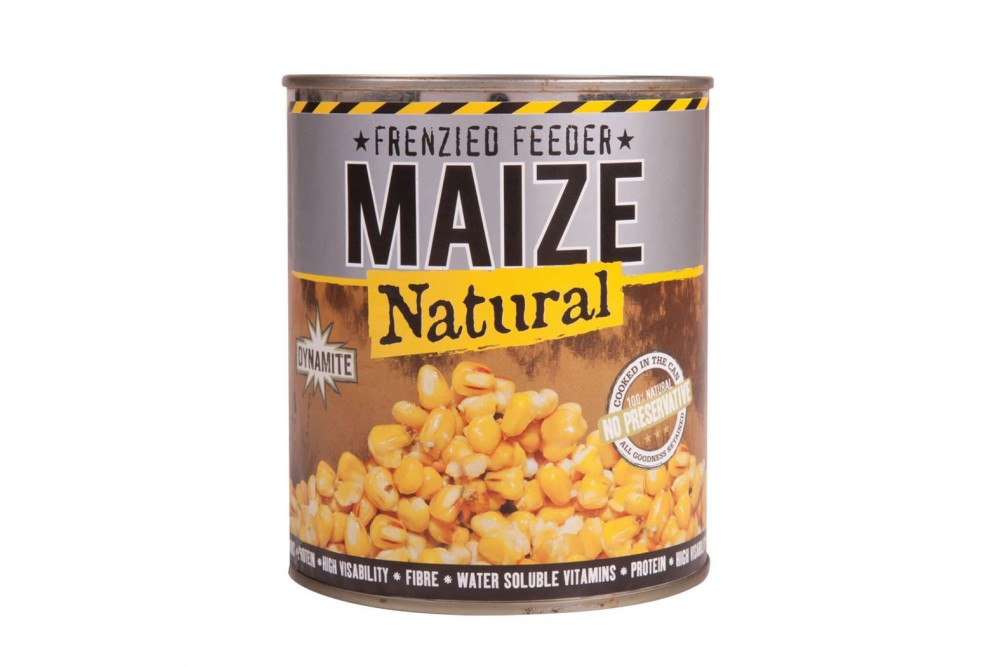 Dynamite Frenzied Feeder Maize Tin 600g